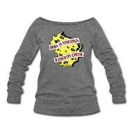 Long Sleeve Shirts ~ Women's Wideneck Sweatshirt ~ Raised on Cheese (Digital Print)