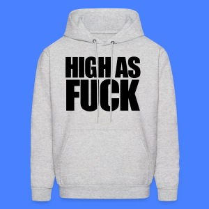 High As Fuck Hoodies - Men's Hoodie