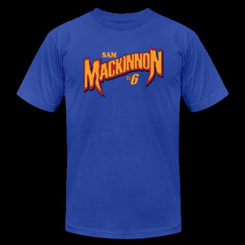 Sam Mackinnon hashtag - Men's Fine Jersey T-Shirt
