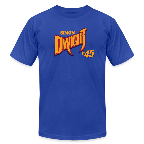 Simon Dwight hashtag - Men's Fine Jersey T-Shirt