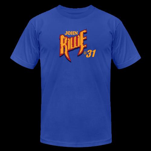 John Rillie hashtag - Men's Fine Jersey T-Shirt