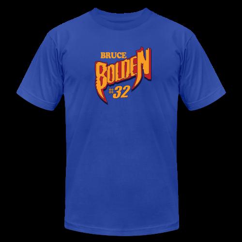 Bruce Bolden hashtag - Men's  Jersey T-Shirt