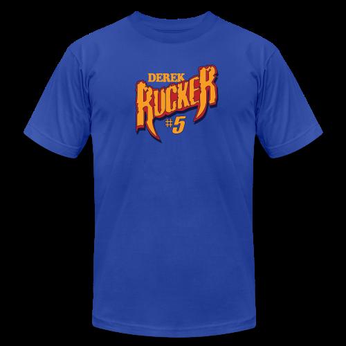 Derek Rucker hashtag - Men's  Jersey T-Shirt