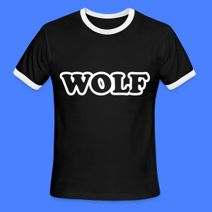 WOLF T-Shirts - Men's Ringer T-Shirt