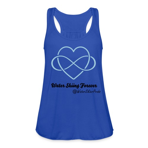 Water Skiing Forever - Women's Flowy Tank Top by Bella