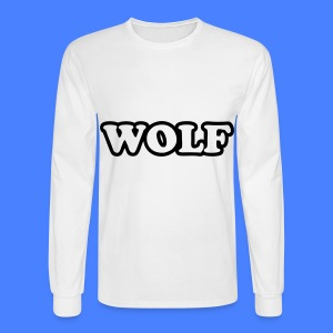 WOLF Long Sleeve Shirts - Men's Long Sleeve T-Shirt