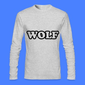 WOLF Long Sleeve Shirts - Men's Long Sleeve T-Shirt by Next Level