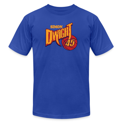 Simon Dwight ball - Men's Fine Jersey T-Shirt