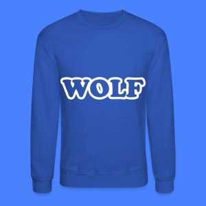 WOLF Long Sleeve Shirts - Crewneck Sweatshirt