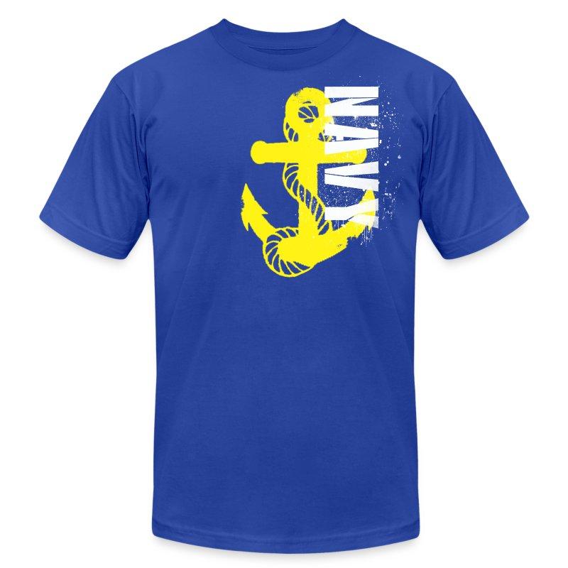 Naval Hero - Men's Fine Jersey T-Shirt