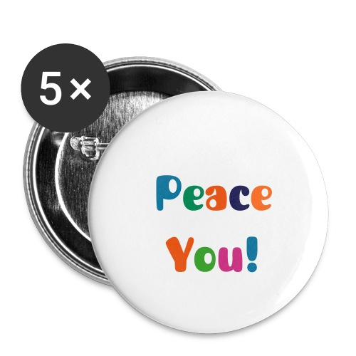 Peace Button - Small Buttons