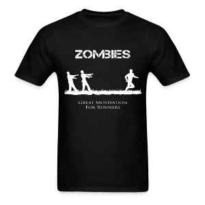 Motivational Zombies - Men's T-Shirt