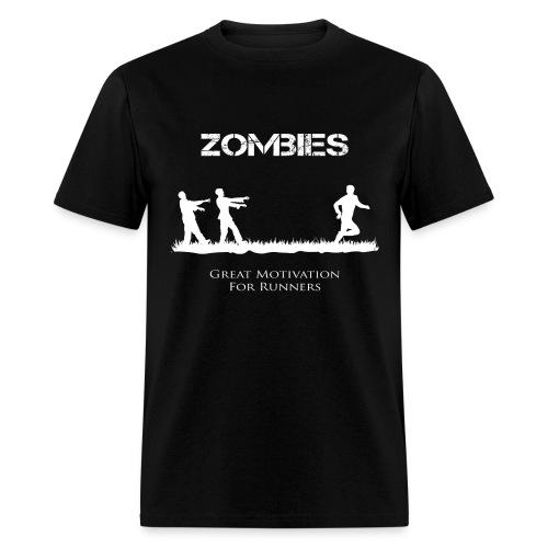 Motivational Zombies - Men's T-Shirt