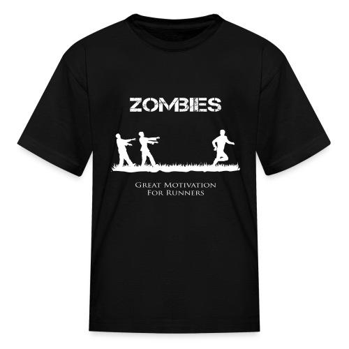 Motivational Zombies - Kids' T-Shirt