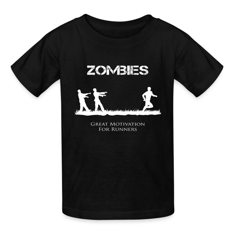 Motivational Zombies - Kids' T-Shirt