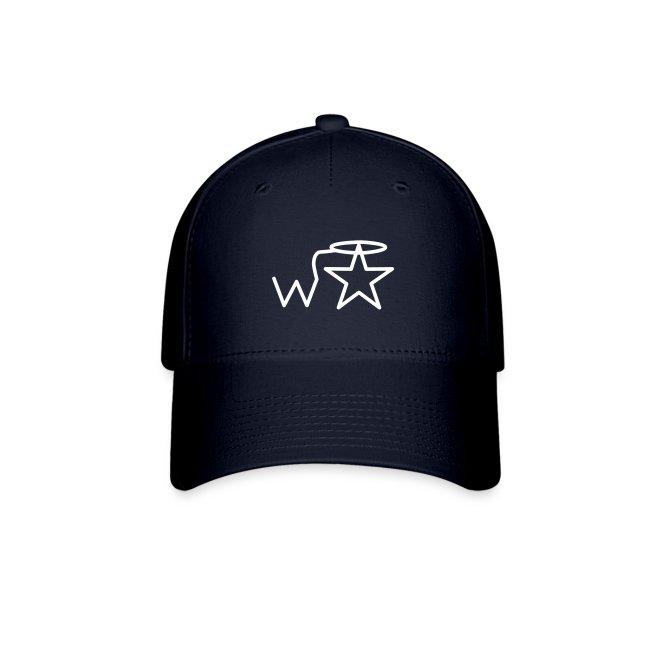 Cap White Logo wranglerstar Ottoflex