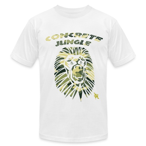 CONCRETE JUNGLE CAMO - Men's Fine Jersey T-Shirt