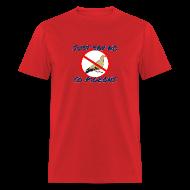 T-Shirts ~ Men's T-Shirt ~ No Pigeons Men's Tee