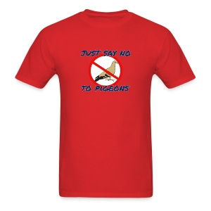 No Pigeons Men's Tee - Men's T-Shirt