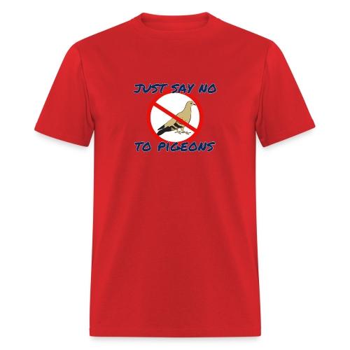 No Pigeons Men's Tee - Men's T-Shirt