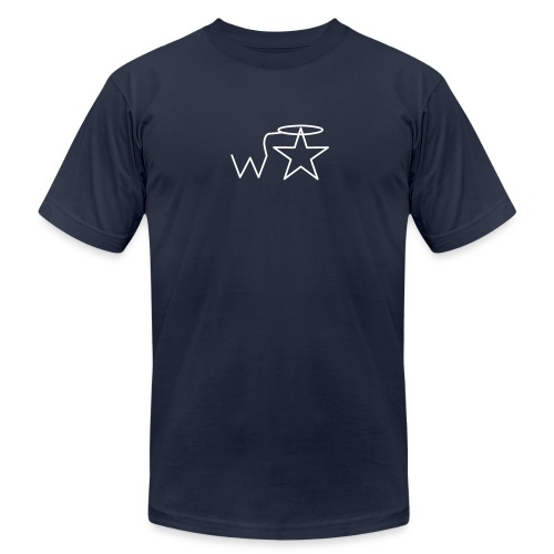 Men'sl White Logo S-3X Wranglerstar - Men's  Jersey T-Shirt