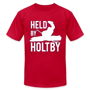 Vintage HBH Tee - Red - Men's T-Shirt by American Apparel