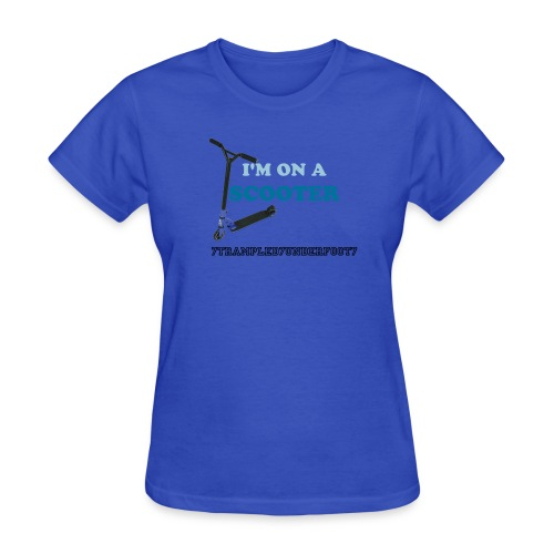 I'M ON A SCOOTER - Womens - Women's T-Shirt