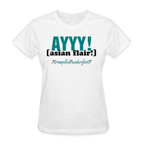 Asian Flair - Women - Women's T-Shirt