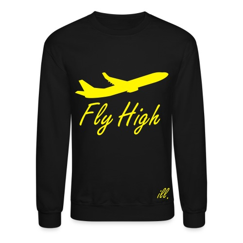 Fly High Trillology Men's Sweatshirt - Crewneck Sweatshirt