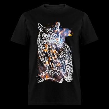 Galactic Owl T-Shirts