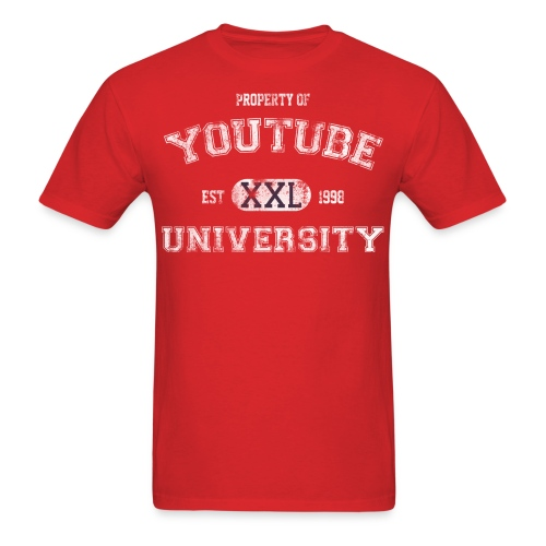 YouTube U (Guys) - Men's T-Shirt