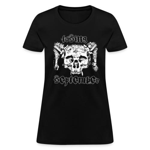 Woman's Standard - Skull - Women's T-Shirt