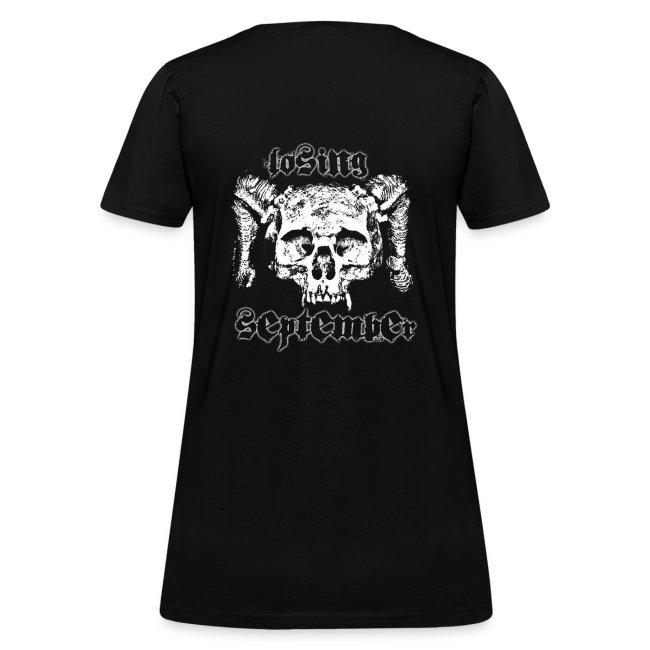 Woman's Standard - Skull