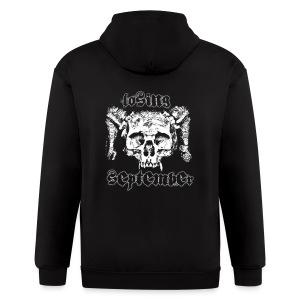 Zip Up Hoody - Skull - Men's Zip Hoodie