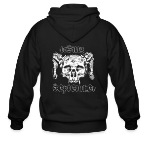 Zip Up Hoody - Skull - Men's Zip Hoodie