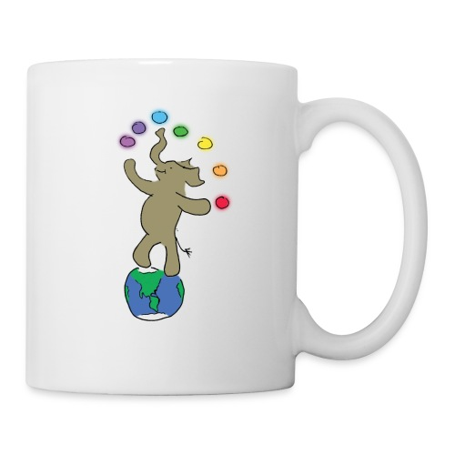 Dancing Ellie the magical elephant - Coffee/Tea Mug