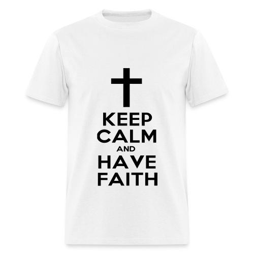 Keep Calm - Black Font - Men's T-Shirt