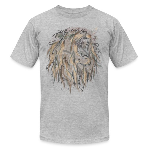 King Lion- Men - Men's Fine Jersey T-Shirt