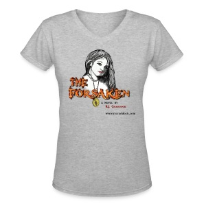 The Forsaken Lost and Found tee - Women's V-Neck T-Shirt