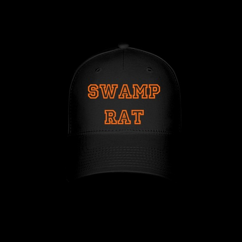 Swamp Rat Hat Orange - Baseball Cap