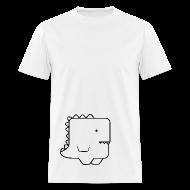 T-Shirts ~ Men's T-Shirt ~ Awkward Dinosaur Male V2
