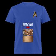 T-Shirts ~ Men's T-Shirt ~ Robot Guts (Blue)