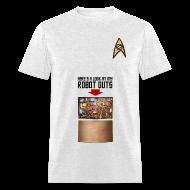T-Shirts ~ Men's T-Shirt ~ Robot Guts (Oxford)