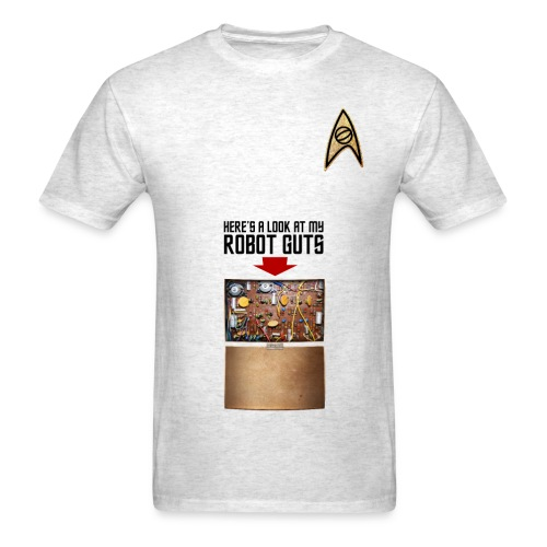 Robot Guts (Oxford) - Men's T-Shirt