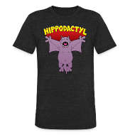 T-Shirts ~ Unisex Tri-Blend T-Shirt ~ Hippodactyl Vintage T-Shirt