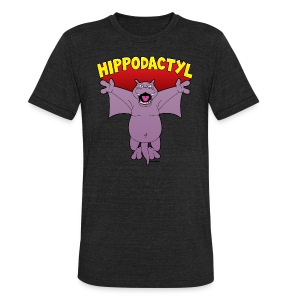 Hippodactyl Vintage T-Shirt - Unisex Tri-Blend T-Shirt by American Apparel