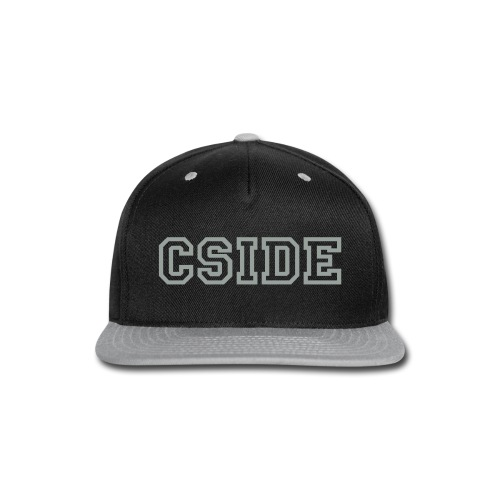 Snap-back Baseball Cap - Batter Up!  Silver and Black - our team hat is ready.  Now all we need is a softball league.