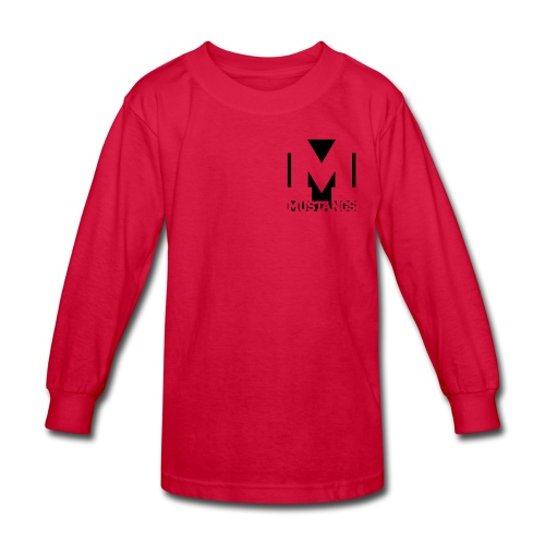 Check out the sleeve - Kids' Long Sleeve T-Shirt