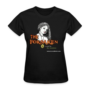 The Forsaken Book tee in black - Women's T-Shirt