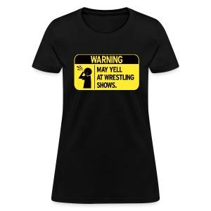 Warning (Women) - Women's T-Shirt